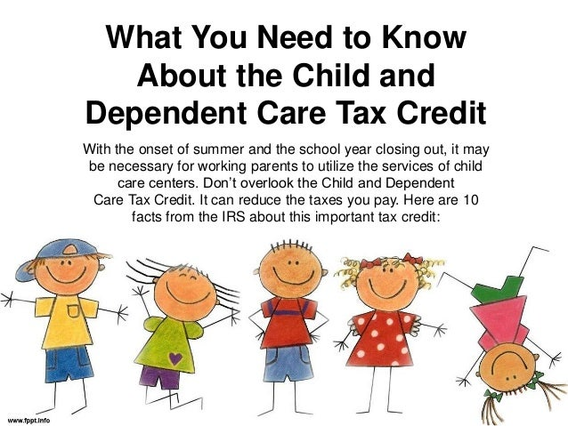 What you need to know about the child and dependent care tax credit