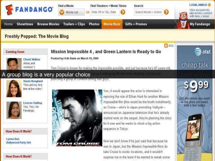 A group blog is a very popular choice