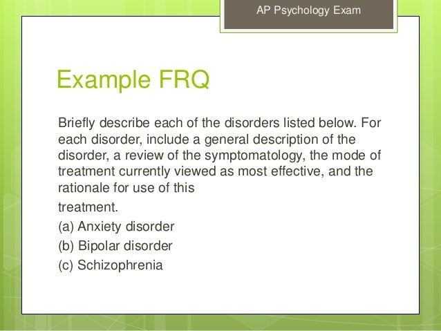 Ap psychology college board essay questions