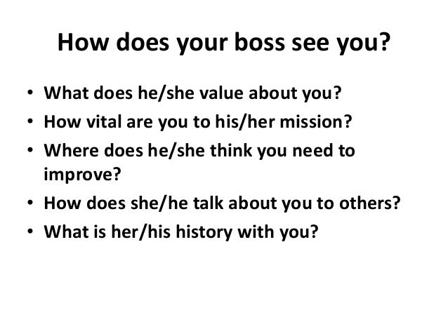 59 ways to build a career advancing relationship with your boss