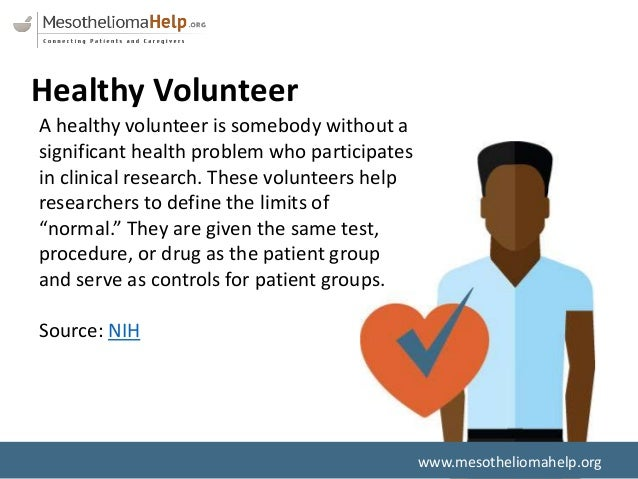 Clinical Trials: What Patients and Healthy Volunteers Need to Know