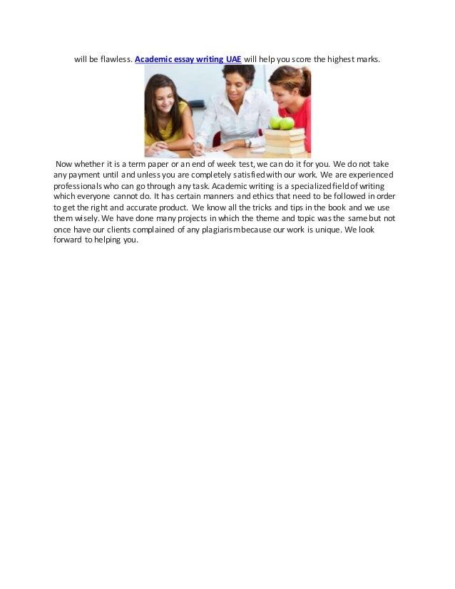 Online Essay Help & Essay Writing Services in UAE