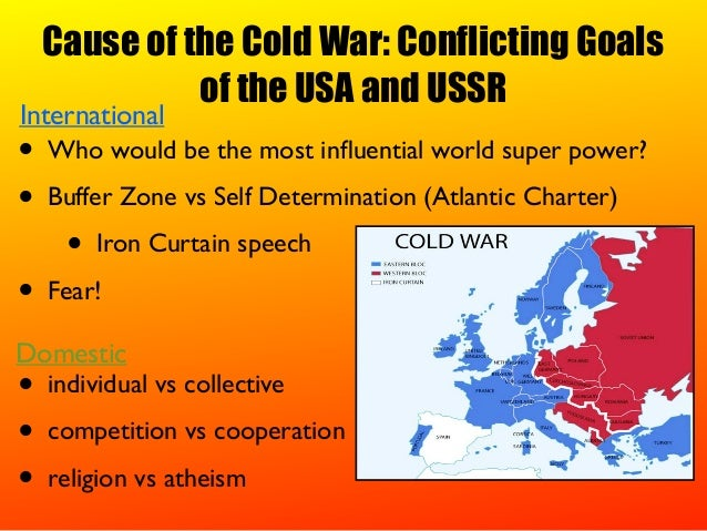 causes of the cold war summary and analysis history essay What caused the cold war this history study guides examines some of the main causes of the cold war the division of europe and competing political systems are.
