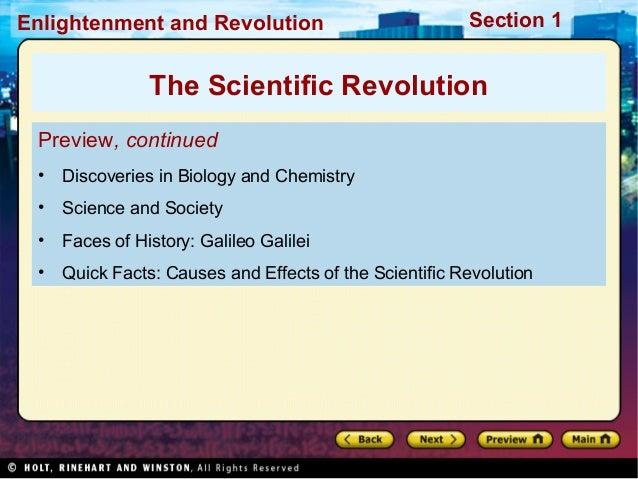Continuity thesis scientific revolution