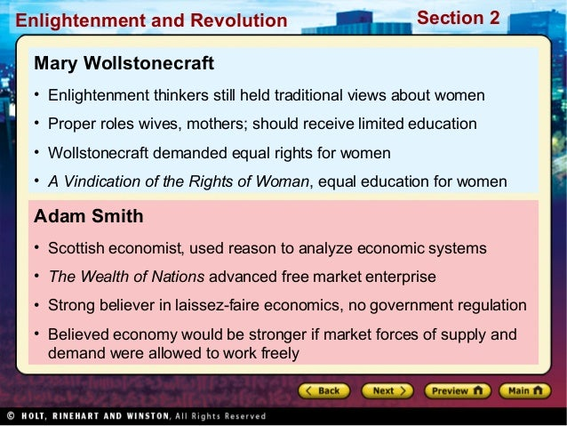 economics of history activity the enlightenment and revolutions answer key