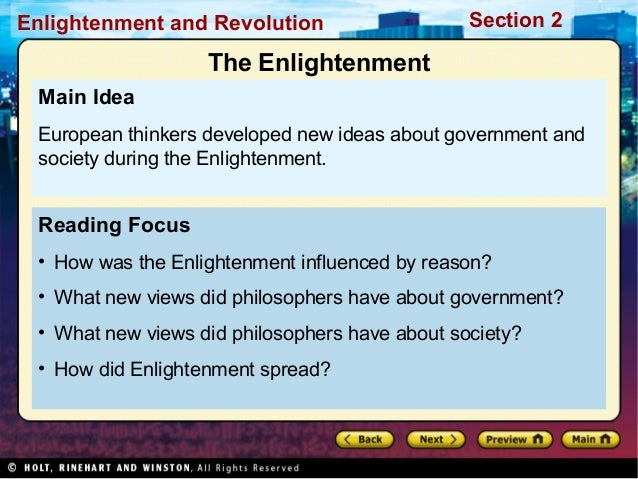 an analysis of the many of the philosophers that existed during the enlightenment In an analysis spanning the period from the late 17th to the early 19th centuries, o'brien reinvestigates enlightenment texts from john locke to thomas malthus to illustrate that enlightenment ideologies were not necessarily inhospitable to notions of women's rationality and moral agency.