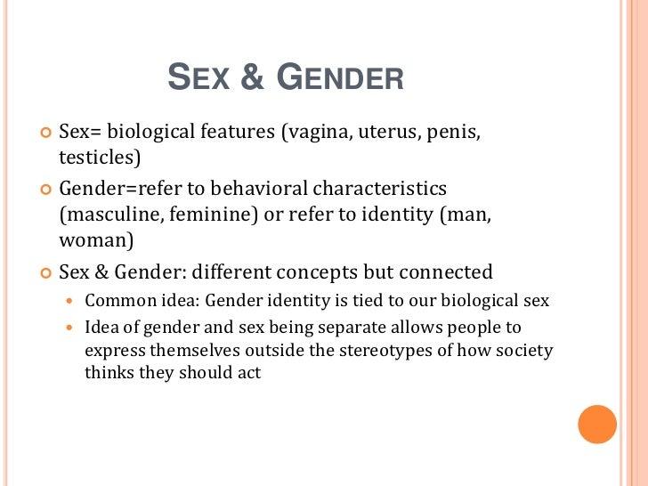 Gender sexual orientation