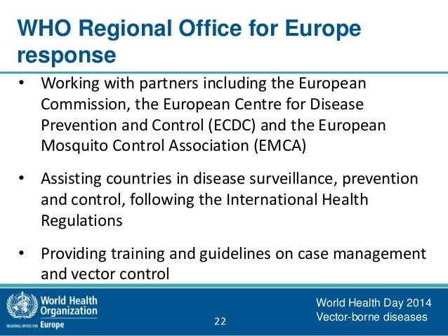 World health day 2014 vector borne diseases for Environmental management bureau region 13