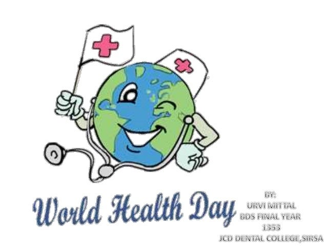OWorld Health Day Is Celebrated On 7 April Every Year To Mark The Anniversary Of