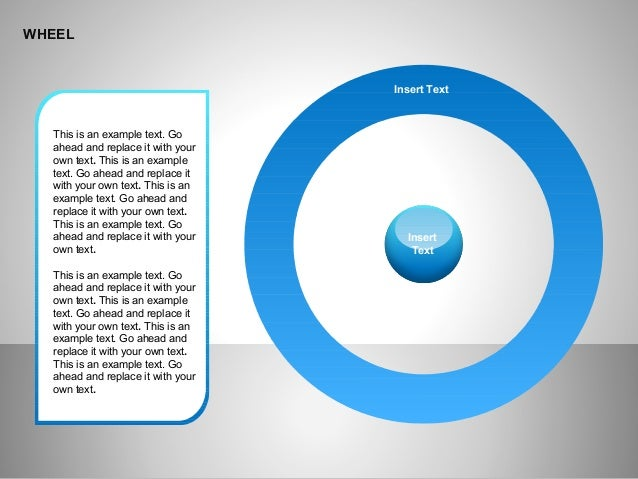 WHEEL This is an example text. Go ahead and replace it with your own text. This is an example text. Go ahead and replace i...