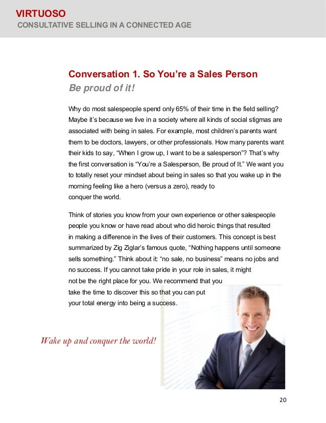 "the age of selling and salespeople Why marketing departments are way more valuable than sales departments in the digital age  the power of assignment selling  ""hiring another sales person ."