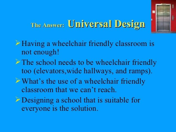Classroom Design For Wheelchairs : Wheelchair