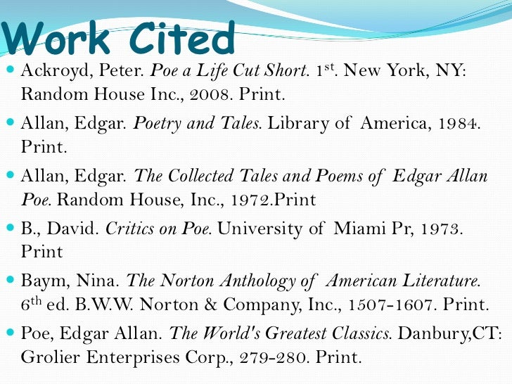 edgar essay Edgar allan poe essay categories free essays tags edgar allan poe is a man constantly searching for beauty to depart from the mental and moral ugliness in his life.