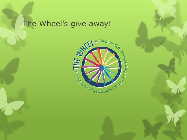 The Wheel's give away!<br />