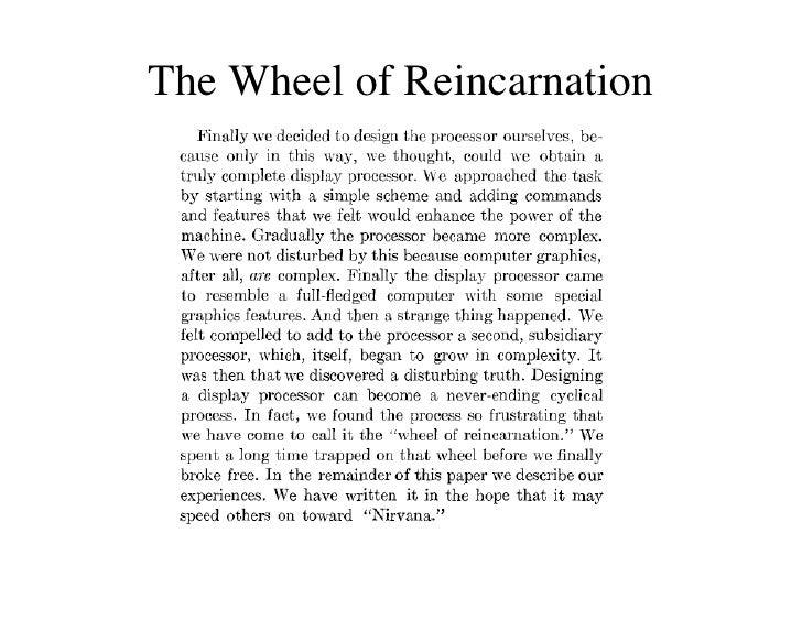 IAP09 CUDA@MIT 6.963 - Lecture 05: Wheel Of Reincarnation (Steven Johnson, MIT) Slide 2