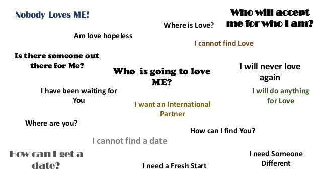 How to find someone to love me