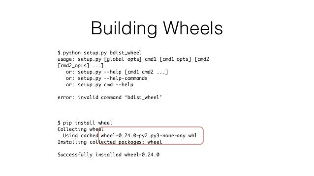 Rolling with the Times: Using wheels, pbr, and Twine for