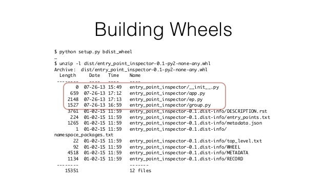 Rolling with the Times: Using wheels, pbr, and Twine for Distributing…