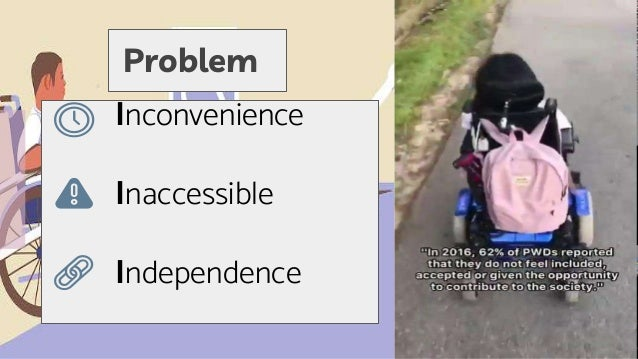 Problem Inconvenience Inaccessible Independence