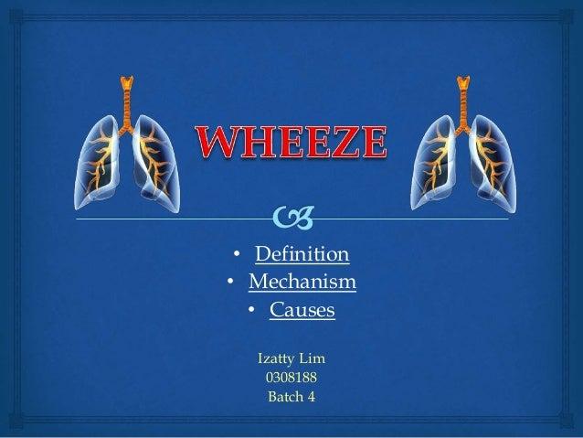 • Definition • Mechanism • Causes Izatty Lim 0308188 Batch 4