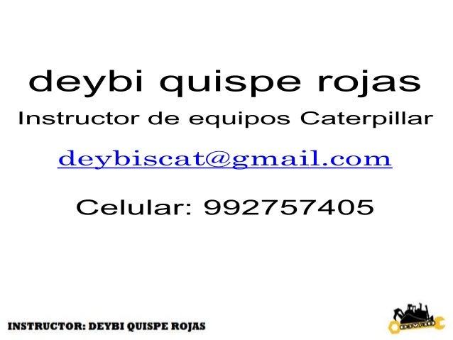 OBJETIVOS DEL CURSO • Después de completar este curso, usted podrá: • Llevar a cabo una inspección de seguridad y mantenim...