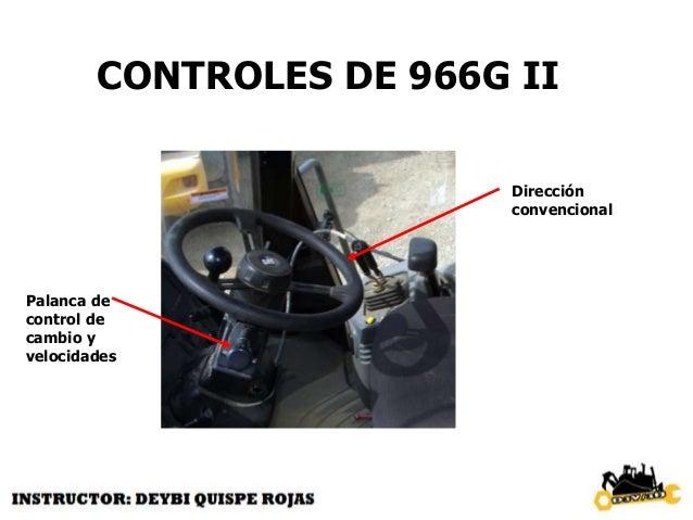 CONTROLES 966G II PALANCA DEL CONTRO DE PLUMA Y BRAZO