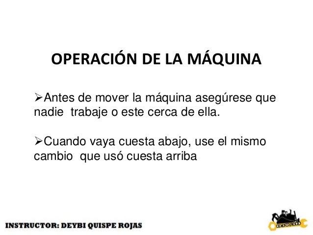 CONFIGURACIÓN DE LA MAQUINA