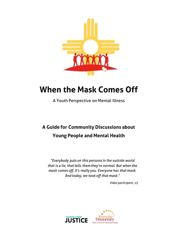 """""""When the Mask Comes Off"""" Community Discussion Guide"""