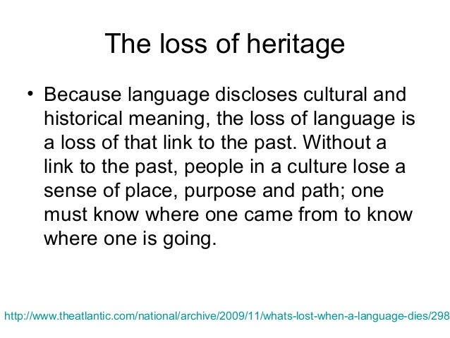 When A Language Dies Lecture Notes For Language Culture