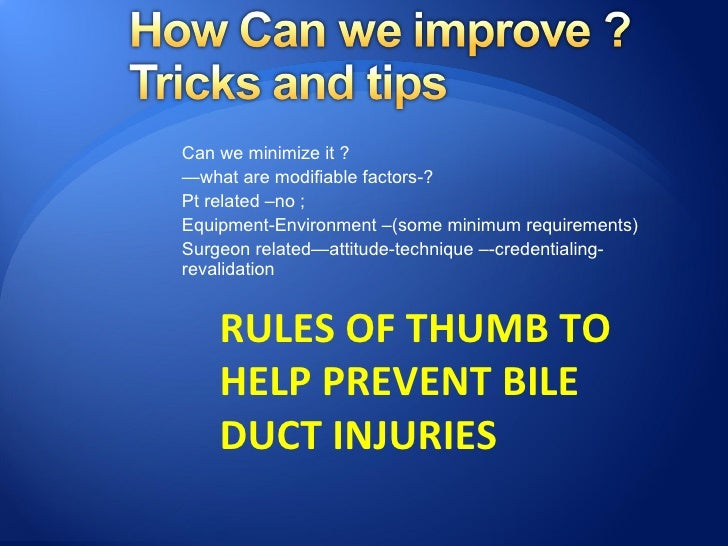  Conversion should not be  considered a complication and  surgeons should have a low  threshold for conversion; Decision...