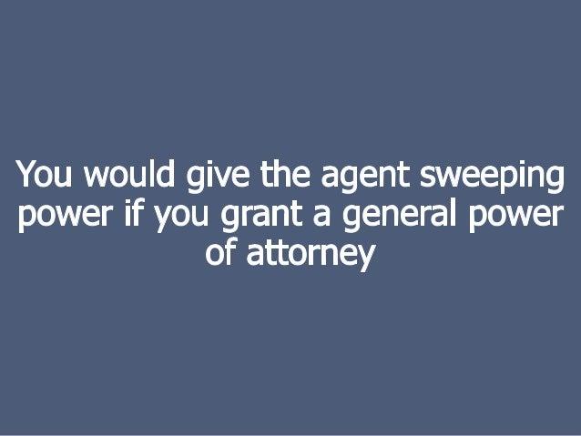Attorney In Fact Vs Agent