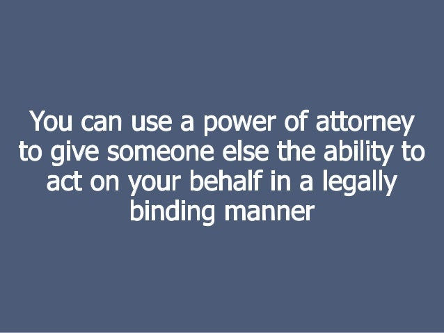What Does Attorney-In-Fact Do