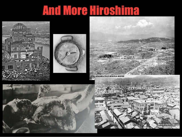 hiroshima was a necessary decision to end world war ii More than seventy years after the end of world war ii, the decision to drop the atomic bombs on hiroshima and nagasaki remains controversial historians and the public continue to debate if the bombings were justified, the causes of japan's surrender, the casualties that would have resulted if the us had invaded japan, and more.
