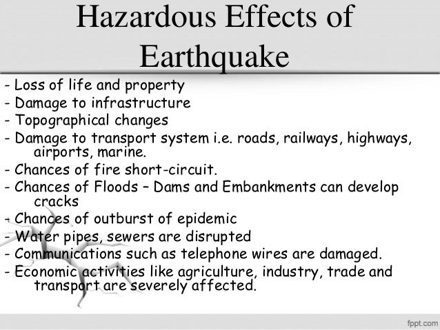 a research on earthquakes and the effects on earth Career research researching careers  factors that influence earthquake effects quiz  go to sciencefusion the dynamic earth unit 45: earthquakes ch 18.