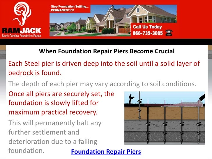 When Foundation Repair Piers Become Crucial