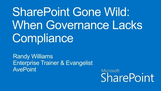 What isgovernance