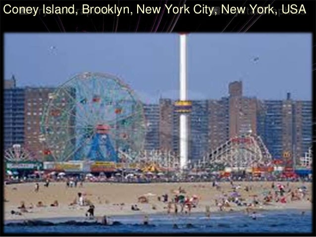 Coney Island In Chicago Illinois