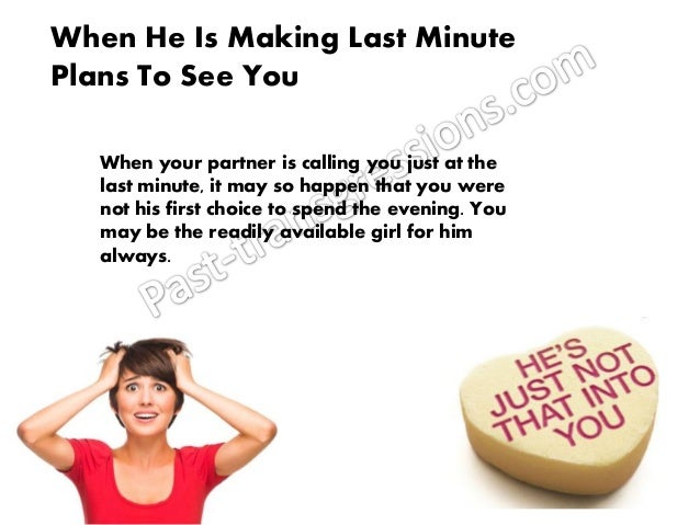 How to know he is into you