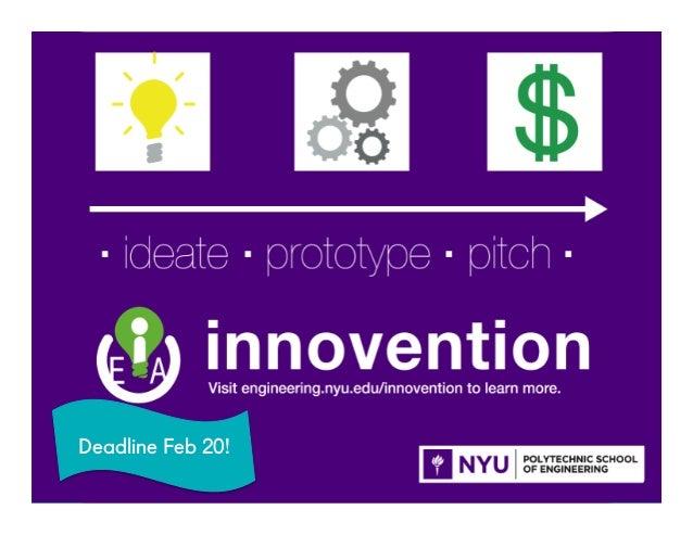@NYUEntrepreneur51 Deadline Feb 20!