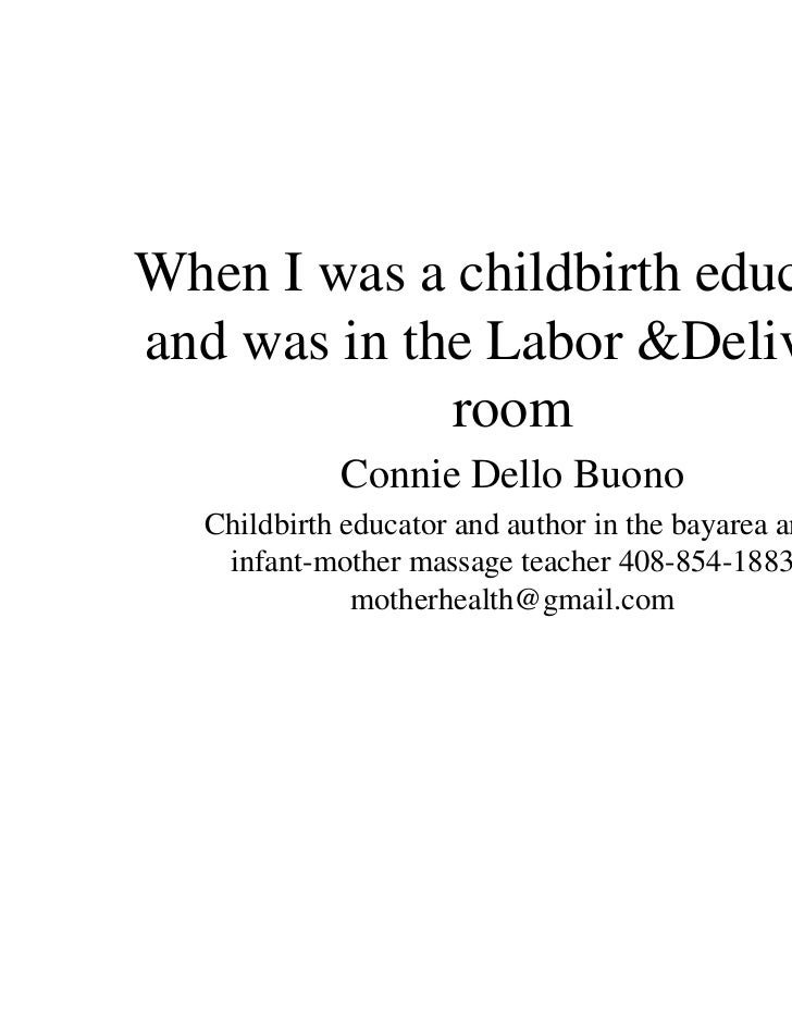 how to become childbirth educator