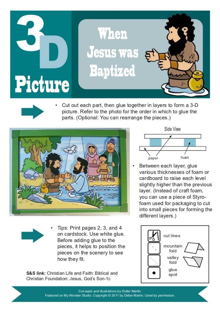 When                                     Jesus was                                     BaptizedPicture                • C...