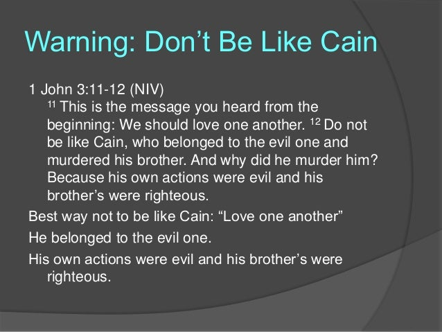 when men run from god the way of cain genesis 41626