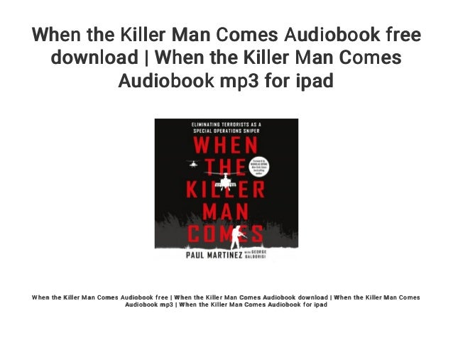 Spaceman the killers audio book