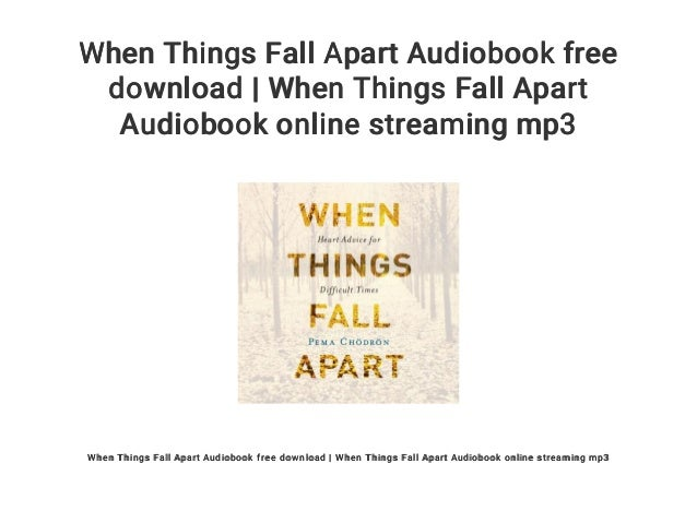 Best summary, analysis, and review of pema chodron's when things fall….