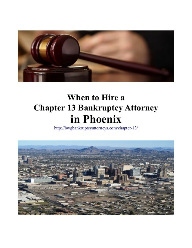 chapter 13 bankruptcy attorney phoenix