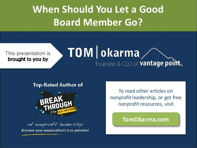 what does it mean to be a board member