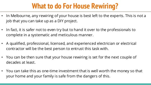 Magnificent When To Rewire Your House Wiring Digital Resources Cettecompassionincorg
