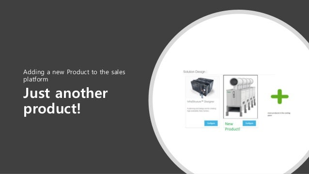 Just another product! Adding a new Product to the sales platform