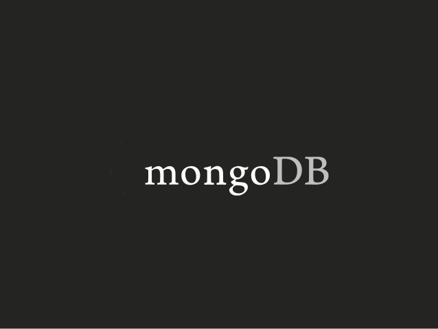 When should you use MongoDB  …. And when you should not….  Edouard Servan-Schreiber, Ph.D.  Director for Solution Architec...