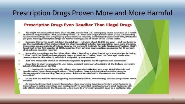 Prescription Drugs Proven More and More Harmful 34